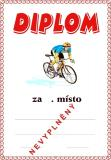 Cyklistika diplom A4 �.3