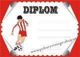 Fotbal diplom A4 �.34