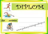 Triatlon diplom A4 č.2