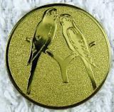 Papoušci MINI emblém A1č.103