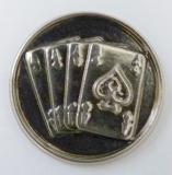 Karty MINI emblém A41č.30-stříbrný