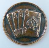 Karty MINI emblém A41č.30-bronz