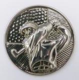 Golf MAXI emblém A42č.36-stříbro