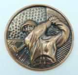 Golf MAXI emblém A42č.36-bronz