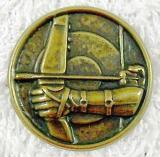 Lukostřelba MINI emblém A41č.19-zlatý