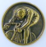 Cyklistika MINI emblém A 41 č.2-zlato