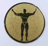 Kulturisti MINI emblém A1č.81
