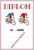 Cyklistika diplom A4 č.1