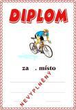 Cyklistika diplom A4 č.3