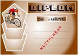 Cyklistika diplom A4 č.9