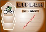 Cyklistika diplom A4 č.11