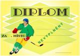 Hokej diplom A4 č.6