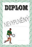 Tenis diplom A4 č.49