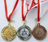 Sportovní gymnastika medaile - ŽENY - komplet D12C-SGŽ