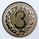 MINI emblém A11 č.69-BRONZOVÝ