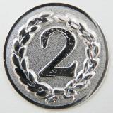 MINI emblém A11 č.68-STŘÍBRNÝ