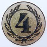 MINI emblém A1 č.169-BRONZOVÝ