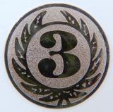 MINI emblém A1 č.107-BRONZOVÝ