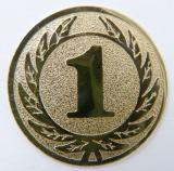 MINI emblém A1 č.105-ZLATÝ