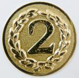 MAXI emblém A12 č.68-ZLATÝ