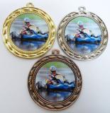 Motokáry medaile D9A-119