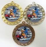 Motokáry medaile D9A-120
