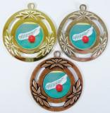 Florbal medaile D79A-L125