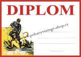 Hasiči diplom A4 č.5