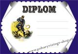 Hasiči diplom A4 č.22