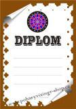 Šipky diplom A4 č.10