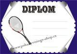 Tenis diplom A4 č.75