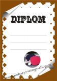 Ping pong diplom A4 č.17