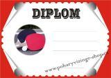 Ping pong diplom A4 č.19