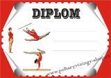 Gymnastika diplom A4 č.11