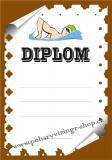 Plavání diplom A4 č.12