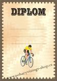 Cyklistika diplom A4 č.22