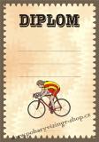 Cyklistika diplom A4 č.23