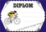 Cyklistika diplom A4 č.24