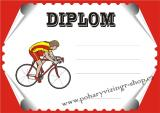 Cyklistika diplom A4 č.25