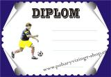 Fotbal diplom A4 č.29