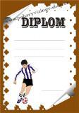 Fotbal diplom A4 č.31