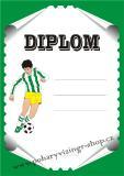 Fotbal diplom A4 č.32