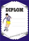 Fotbal diplom A4 č.33