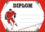 Hokej diplom A4 č.36