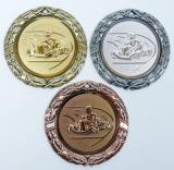 Motokáry medaile D8D-81