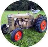 Traktor MINI logo L1č.166