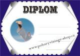 Karate diplom A4 č.6
