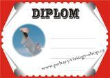 Karate diplom A4 č.7