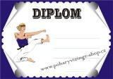 Karate diplom A4 č.10