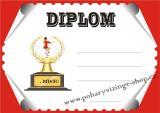 Mažoretky diplom A4 č.2